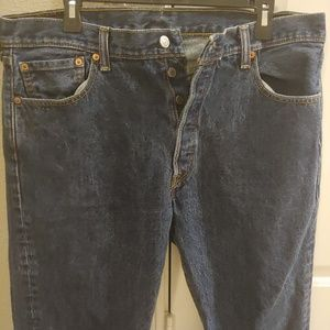 Levi's 501 Straight Button Fly 36x34Jeans